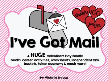 HUGE Valentine's Day Bundle (Pre-K, K, 1, Special Education, Autism)