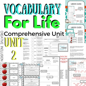 Life Application Vocabulary Unit, Part 2