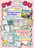 HUGE Vowel Diphthongs OU & OW Phonics Bundle with Book & I