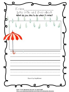 HUGE Writing Prompt Bundle!  {17 Printable Writing Pages for Primary Grades!}