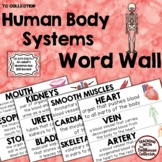 HUMAN BODY SYSTEMS WORD WALL Science Vocabulary