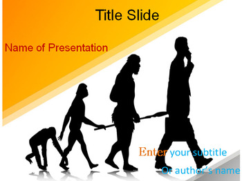 Human evolution powerpoint template by templates vision tpt human evolution powerpoint template toneelgroepblik Image collections