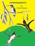 SCIENCE READING: HUMMINGBIRDS (FUN, COMMON CORE, BARGAIN $, CLIP ART)