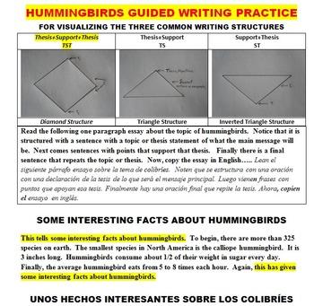 SCIENCE READING: HUMMINGBIRDS (FUN, COMMON CORE, BARGAIN $, CLIP ART)