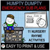 HUMPTY DUMPTY EMERGENCY SUB PLANS OR DISTANCE LEARNING FOR