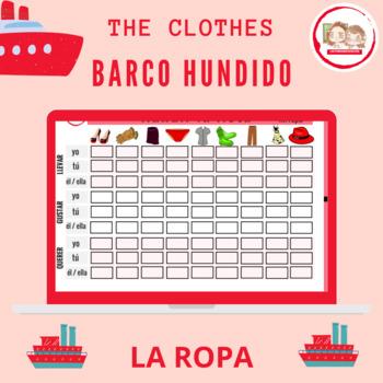 HUNDIR LA FLOTA: LA ROPA (The Battleship: The Clothing)