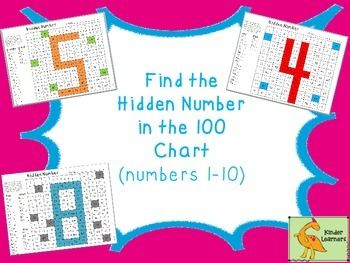 HUNDRED CHART COLOR BY NUMBER