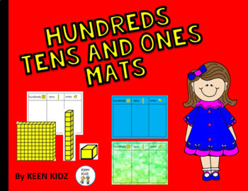 HUNDREDS, TENS AND ONES MATS
