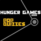 THE HUNGER GAMES 27 Pop Quizzes (5 comprehension questions