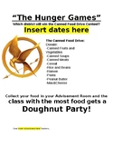 HUNGER GAMES Canned Food Drive