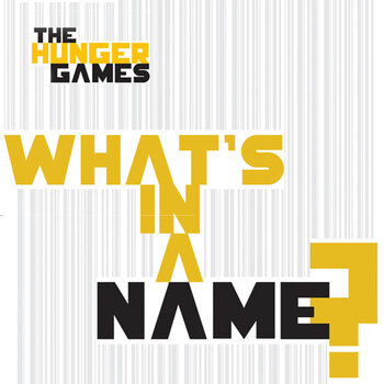 HUNGER GAMES Character Names Meanings Organizer