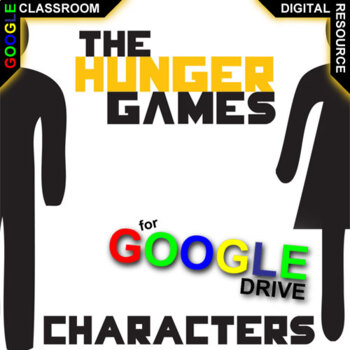HUNGER GAMES Characters Organizer (Created for Digital)