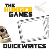 THE HUNGER GAMES Journal - Quickwrite Writing Prompts - Po