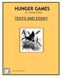 HUNGER GAMES Quiz, Test, Essay