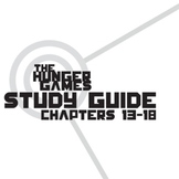 THE HUNGER GAMES Study Guide Chapters 13-18 (groupwork and