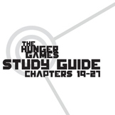 THE HUNGER GAMES Study Guide Chapters 19-27 (groupwork and