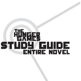THE HUNGER GAMES Study Guide Entire Novel (groupwork and s