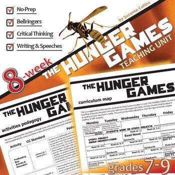 THE HUNGER GAMES  Unit - Novel Study Bundle (Suzanne Collins) - Literature Guide