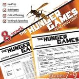 THE HUNGER GAMES Unit Plan - Novel Study Bundle (Collins) - Literature Guide