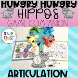 HUNGRY HUNGRY HIPPOS GAME COMPANION, ARTICULATION (SPEECH