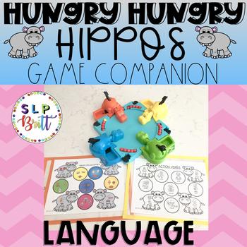 HUNGRY HUNGRY HIPPOS GAME COMPANION, LANGUAGE (SPEECH & LANGUAGE THERAPY)