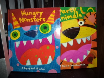 HUNGRY MONSTERS   PARTY ANIMALS   (SET OF 2)