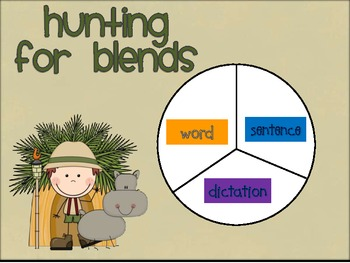 HUNTING FOR BLENDS:Phonics review