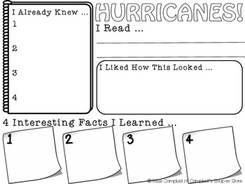 FINDs Project {HURRICANES!}