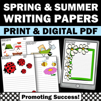 Spring or Summer School Creative Writing Papers