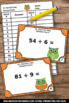 St. Patrick's Day Math Division Facts Task Cards for Centers Games & Activities