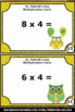 St Patricks Day Math Centers Multiplication Facts Task Car