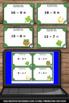St. Patrick's Day Math Activities, Kindergarten Subtraction Task Cards