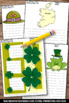 St. Patrick's Day Activities Writing Papers Spring March W