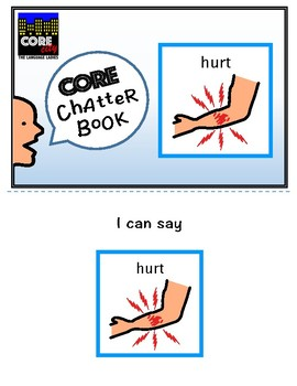HURT: Interactive CORE City Chatter Book
