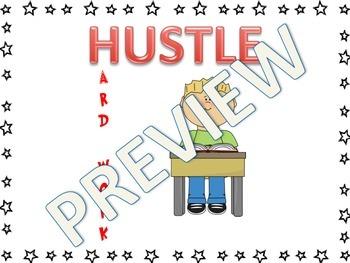 HUSTLE Motivational Packet