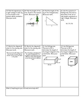 HW3: Pythagorean Theorem