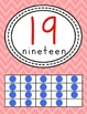 HWT Style Number Wall Cards 1-20
