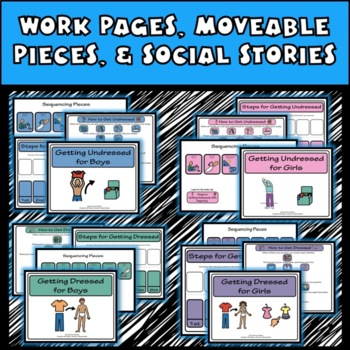 HYGIENE & Good Health FILE FOLDERS, Sequencing Activities: Autism, Special Ed