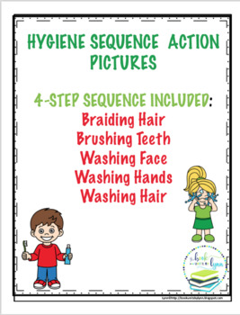 HYGIENE SEQUENCE PICTURE SETS