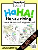 Ha Ha! Handwriting Secret Code Jokes / Practice for Older Kids *HALLOWEEN*