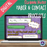 Haber and Contact Processes Digital Scribble Notes | Dista