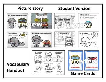 Había una vez - Year 1 - Story 12 - Elefante va a la escuela