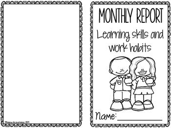 Learning Skills - Habiletés d'apprentissage et habitudes de travail - ENGLISH