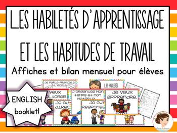 Learning Skills - Habiletés d'apprentissage et habitudes d