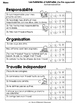 Habiletés et habitudes - French Learning Skills Self-Evaluation Sheets