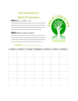 Habit Formation Template