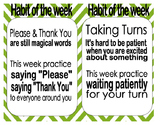Habit of the Week