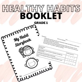 Habit storybook WITH ASSESSMENT TOOL