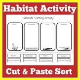 Animal Habitats Kindergarten | Animal Habitats First Grade