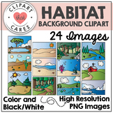 Habitat Background Clipart by Clipart That Cares